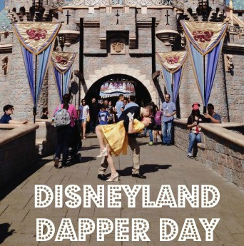 disneyland dapper day 2014