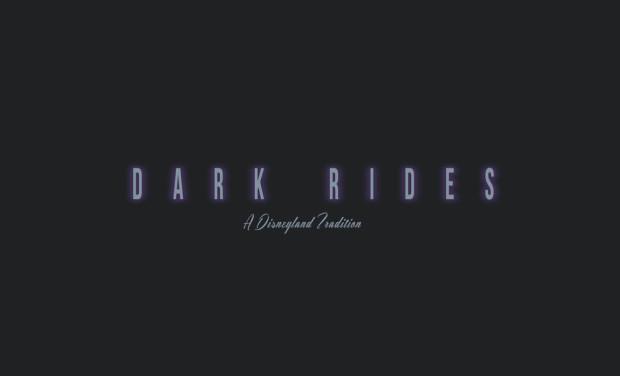 dark rides a disneyland traditon