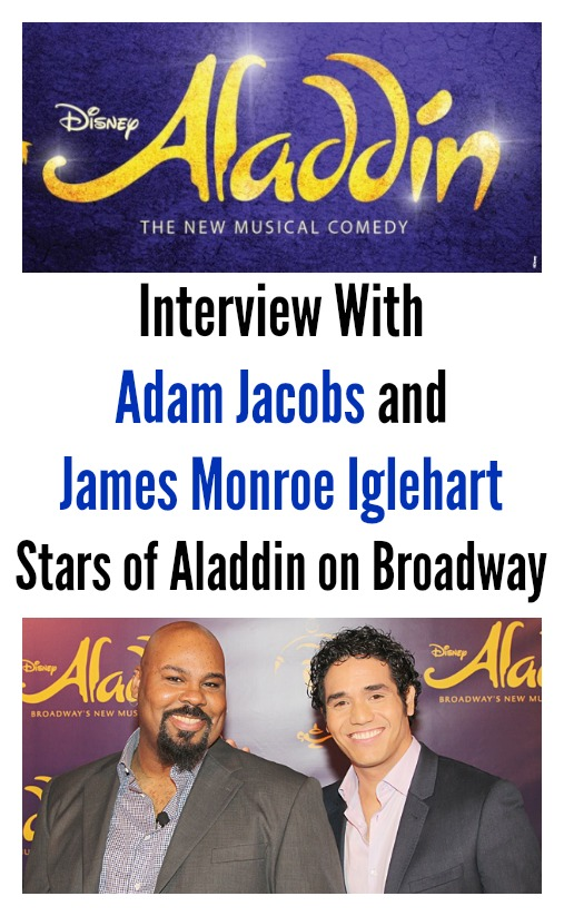 disney aladdin on broadway james monroe igelhart and adam jacobs