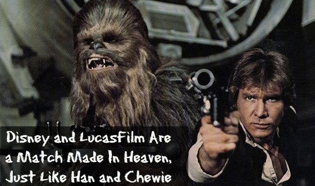 disney and lucasfilm han and chewie