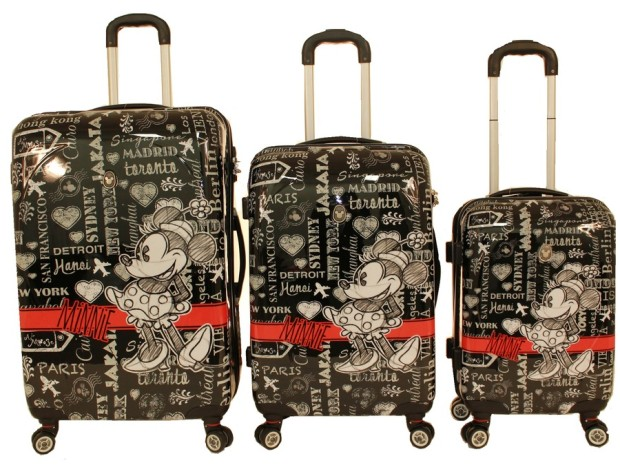 disney luggage disneyland