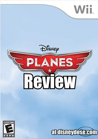 disney planes wii game review