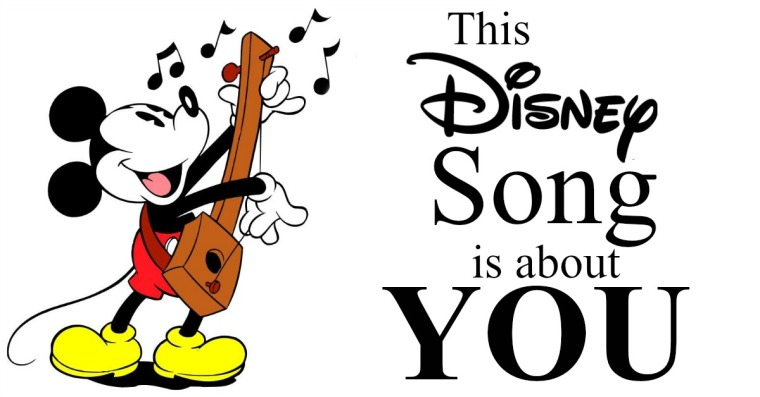disney song is about you