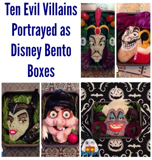 disney villains bento box