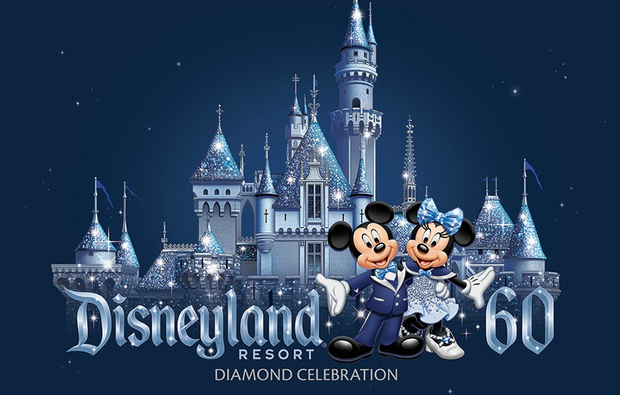 disneyland castle mickey and minnie