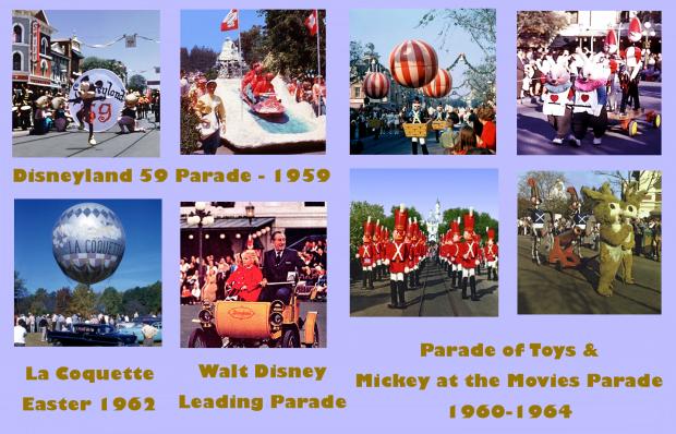 disneyland Parades 1959-1964