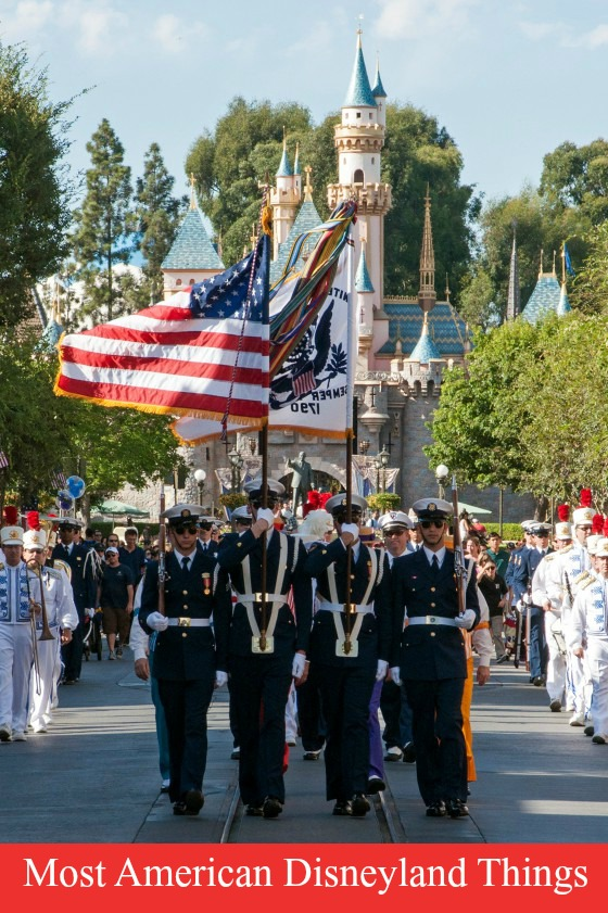 disneyland flag retreat
