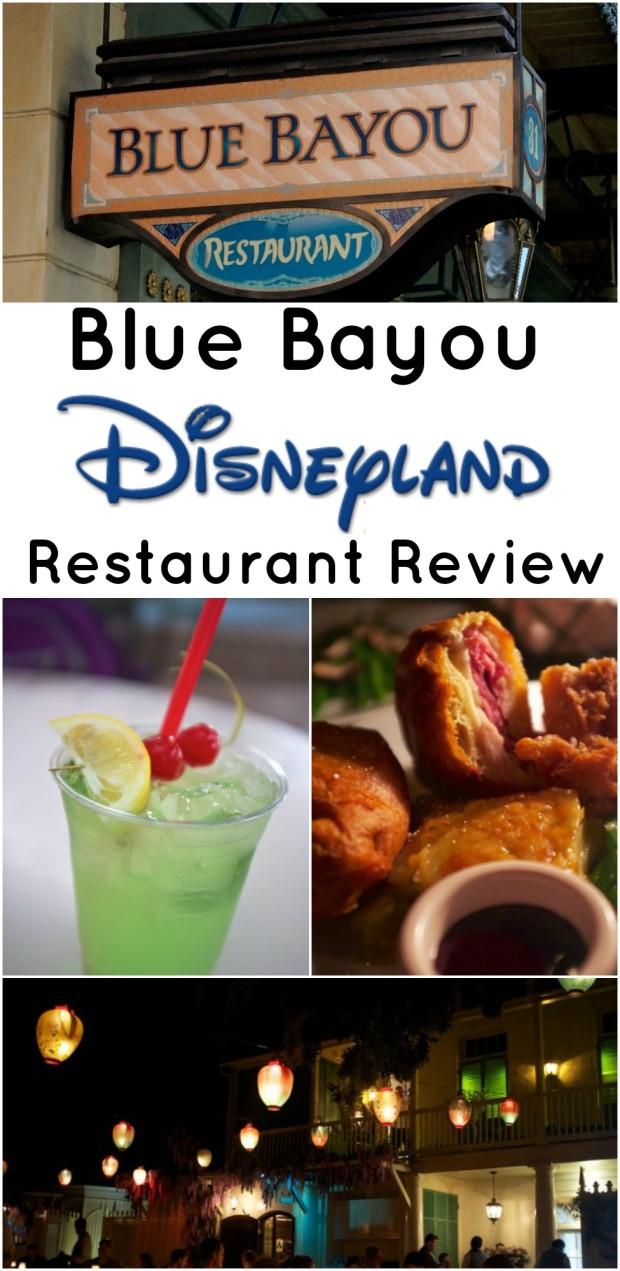 disneyland blue bayou review