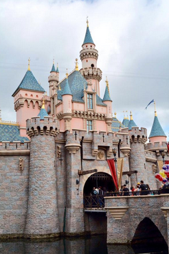 disneyland castle sleeping beauty castle new