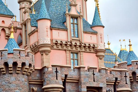 disneyland castle sleeping beauty castle vertical