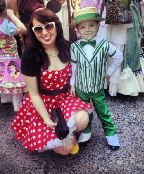 disneyland child dapper day 2014
