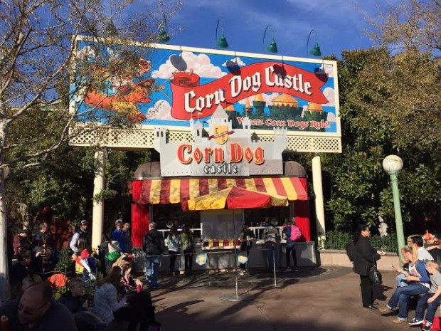 disneyland corn dog castle