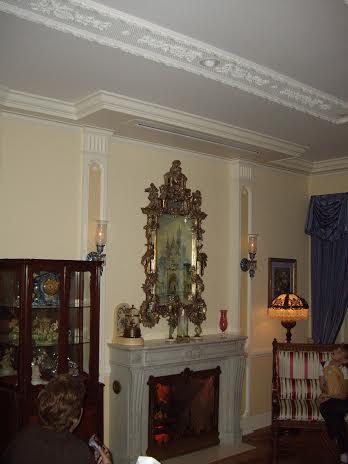disneyland dream suite fireplace