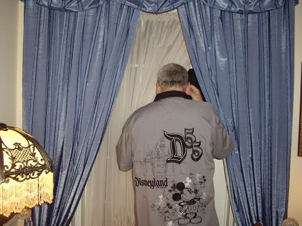 disneyland dream suite looking out