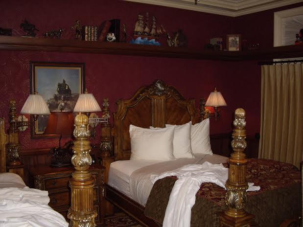 Disneyland Dream Suite Train Room Bedroom