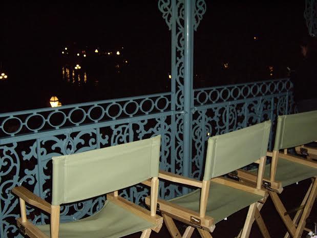 disneyland dream suite watching fantastmic balcony