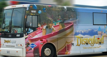disneyland magical express bus
