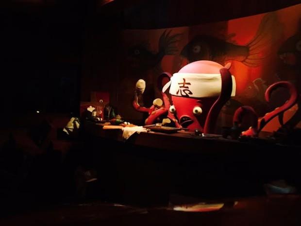 disneyland monsters inc ride food sushi