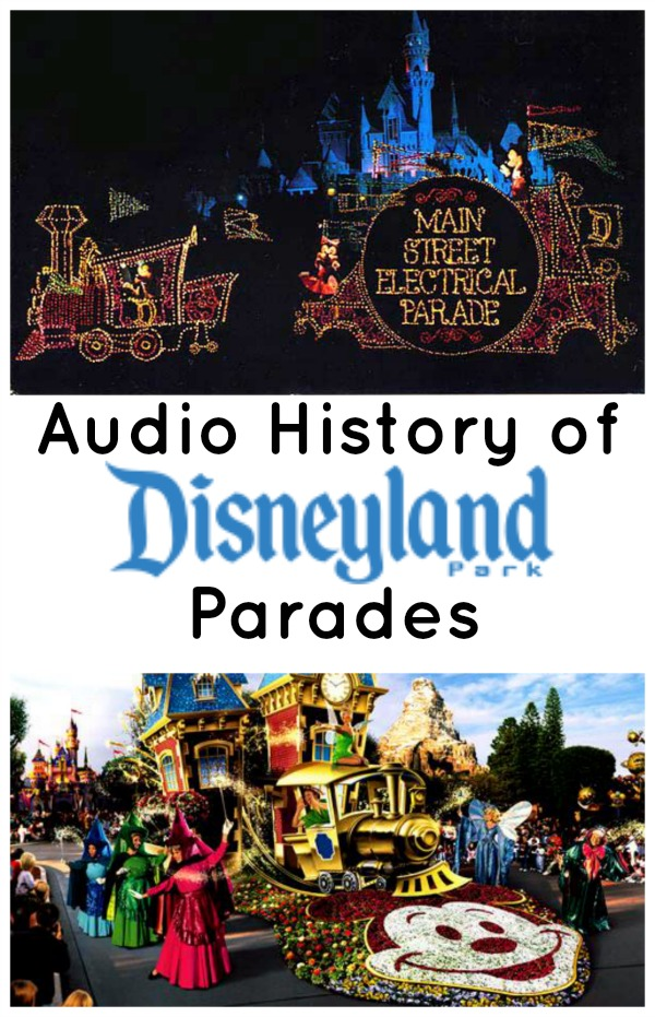 History of the Disneyland Parades