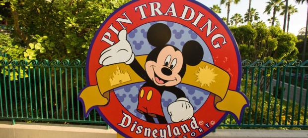 disneyland pin trading
