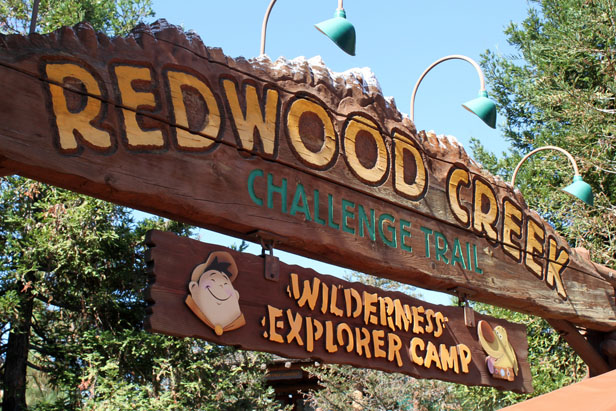 disneyland redwood creek challenge trail