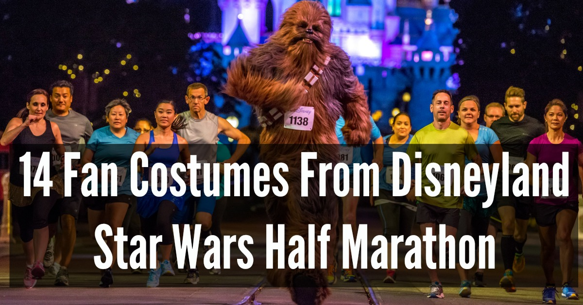 disneyland star wars run disney half marathon weekend