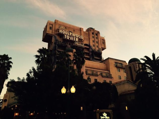 disneyland tower of terror hotel