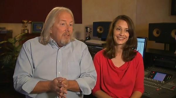 Disneyland Resort Announcers Camille Dixon And Bill Rogers