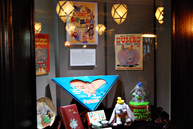 dumbo display case carthay circle theater
