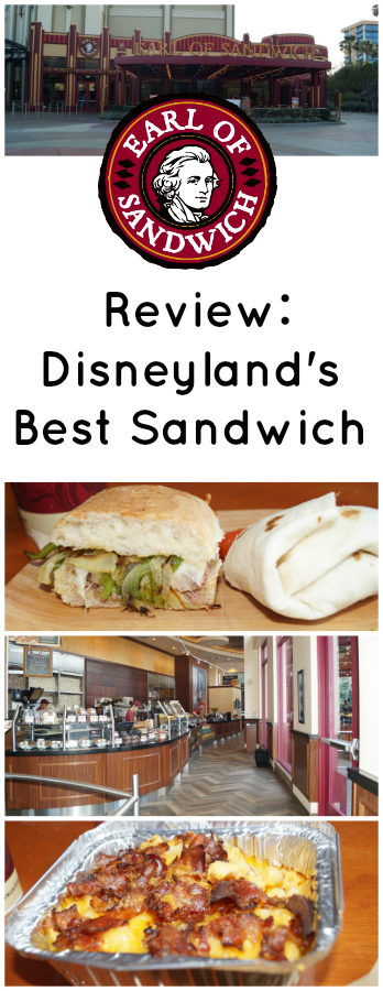 disneyland earl of sandwich review