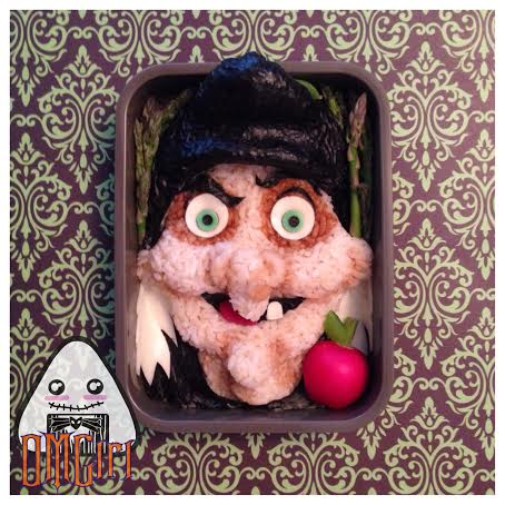 evil queen snow white disney bento box