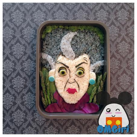 evil stepmother cinderella disney bento box