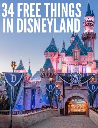 34 FREE Disneyland Things And Experiences