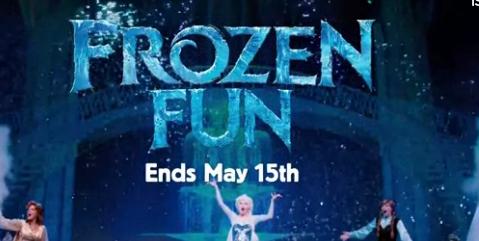 disneyland frozen fun