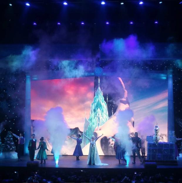 frozen show shanghai disneyland