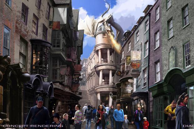 harry potter universal studios