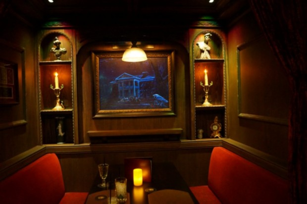 haunted mansion booth club 33