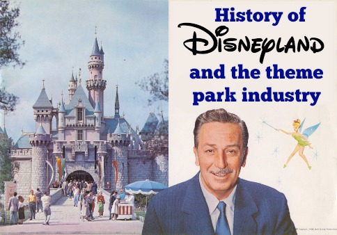 history of disneyland theme parks