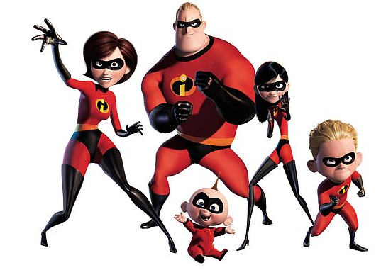 incredibles 2 announced