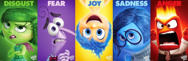 inside out emotion characters joy sadness disgust anger fear
