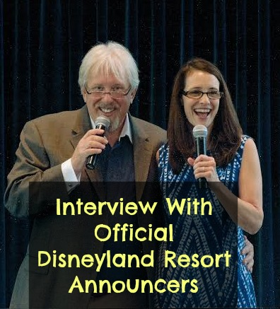 interview with official disneyland resort announcers bill rogers and camille dixon
