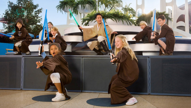 jedi training academy disneyland