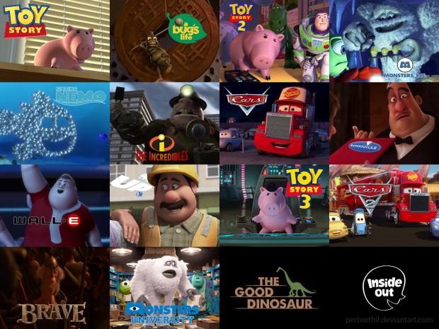 john ratzenberger pixar characters