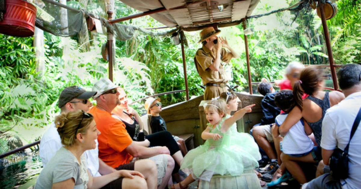 Disney World/Disneyland Jungle Cruise