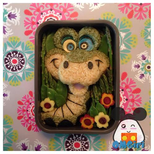 kaa jungle book disney bento box