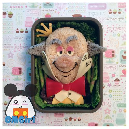 king candy wreck it ralph disney bento box