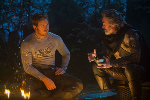 kurt russell chris pratt guardians of the galaxy