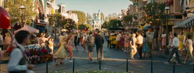 Main Street USA in Saving Mr. Banks