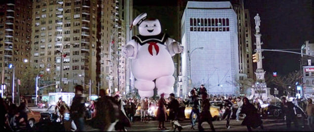 ghost busters marshmallow man