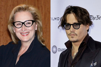 meryl streep and johnny depp